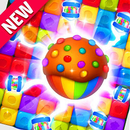 Иконка Toy Cube Crush - Tapping Games
