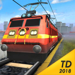 Иконка Train Drive 2018 - Free Train Simulator