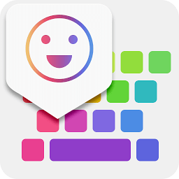 Icon iKeyboard -GIF keyboard,Funny Emoji, FREE Stickers