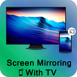 Icon Screen Mirroring TV: Cast screen to TV