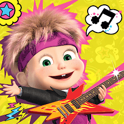 Icon Masha and the Bear: Music Games for Kids