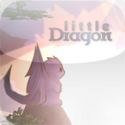 Иконка little Dragon 3D