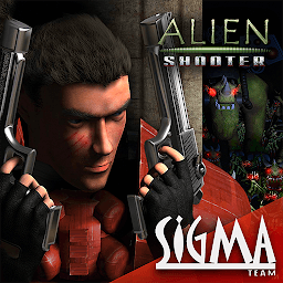 Icon Alien Shooter