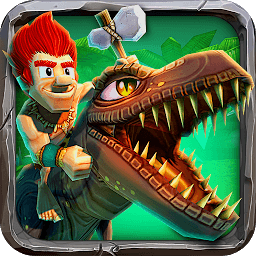 Icon Caveman Dino Rush