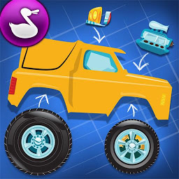 Icon Build A Truck - Duck Duck Moose