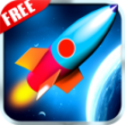 Icon Space Rocket Runner
