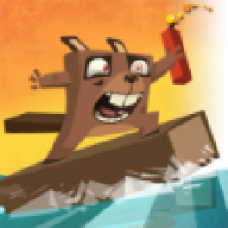 Icon Surfing Beaver