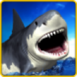 Icon Angry Shark Simulator 3D