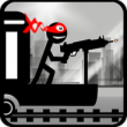 Icon Stickman Train Shooting