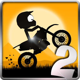 Icon Stick Stunt Biker 2