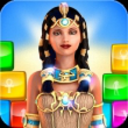 Icon Putting Blocks Ancient Egypt