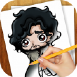 Icon Learn to Draw Game of Thrones