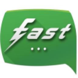 Icon Fast Messenger with Facebook
