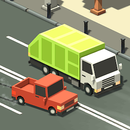 Иконка Blocky Traffic Racer