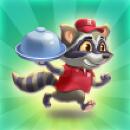 Иконка Raccoon Pizza Rush