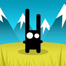 Icon Run Rabbit Run: Платформер