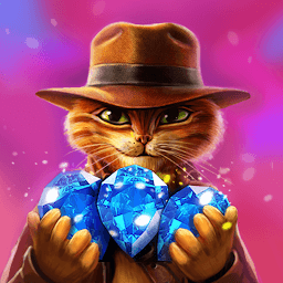 Icon Indy Cat - Match 3 Puzzle Adventure