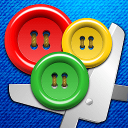 Icon Buttons and Scissors