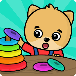 Icon Shapes and Colors – Kids games for toddlers