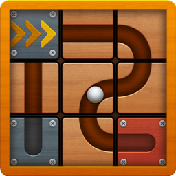 Icon Roll the Ball: slide puzzle 2