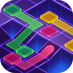 Иконка Flow Dots : Cyber lines game