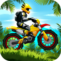 Иконка Jungle Motocross Extreme Racing