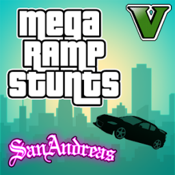 Иконка Mega Ramp San Andreas - Stunts
