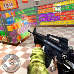 Icon Office Smash Destruction Super Market Game Shooter