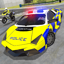 Icon Police Car Driving - Police Chase