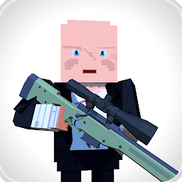 Иконка Sniper Shooter Blocky Hitman