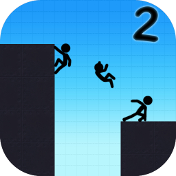 Иконка StickMan Boost 2: Parkour Platform stick Vex