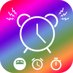Иконка Alarm Clock - Wake up, Relaxing music, fitness