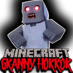 Иконка Granny карта Minecraft Horror MCPE
