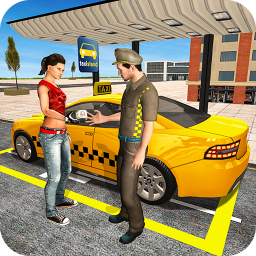Icon Cab Driving City Driver: Taxi Games New 2018