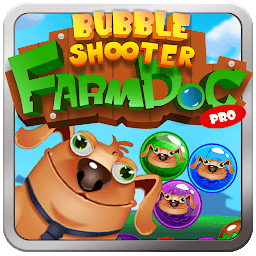 Иконка Fun Dog Pro Bubble Shooter