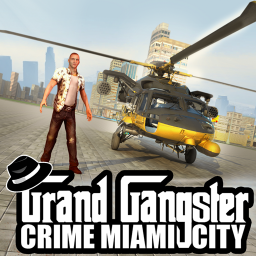 Icon Grand Gangester Crime. Miami City Thug Mafia