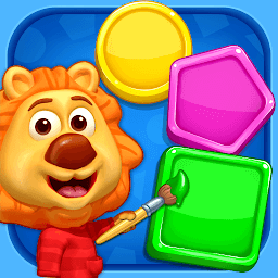 Icon Colors & Shapes - Kids Learn Color and Shape