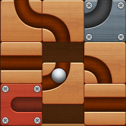 Icon Roll the Ball: slide puzzle