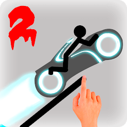 Icon Stickman Racer Road Draw 2 Heroes