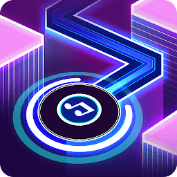 Icon Dancing Ballz: Music Dance Line Tiles Game