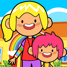 Иконка My Pretend Daycare - Kids Babysitter Games FREE