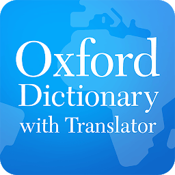 Icon Оxford Dictionary with Translator