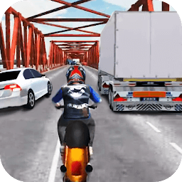 Иконка Moto racing - Traffic race 3D