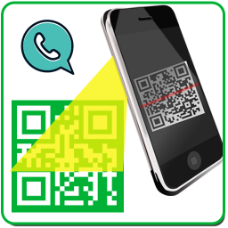 Иконка Whatscan & gif for Messenger 2K18