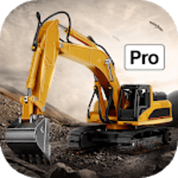 Icon Excavator Simulator Backhoe Loader Dozer Game