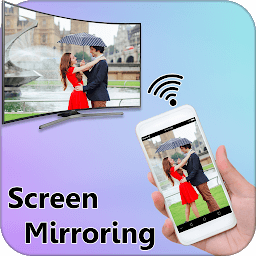 Icon Screen Mirroring Display Mobile Screen On TV