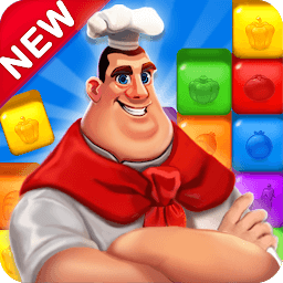 Иконка Blaster Chef: Culinary match & collapse puzzles