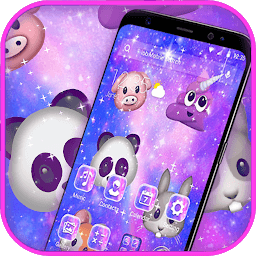 Иконка Colorful Cartoon Lovely Animal Emoji Theme